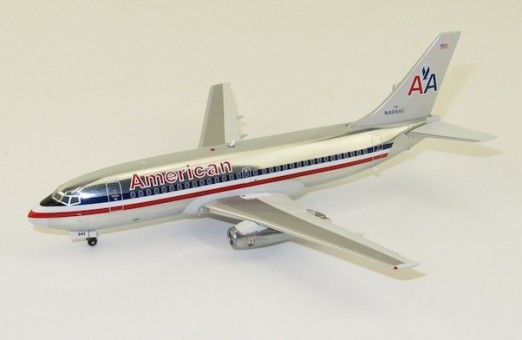 American Airlines polished Boeing 737-200 N466AC Inflight IF732AA0419P 1:200