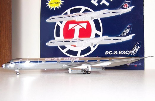 Flying Tigers DC-8-63 N790FT - Polished Finish