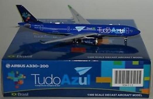 Sale! Azul Tudo Airbus A330-300 PR-AIT XX4312 JC4AZU312 JC Wings Scale 1:400