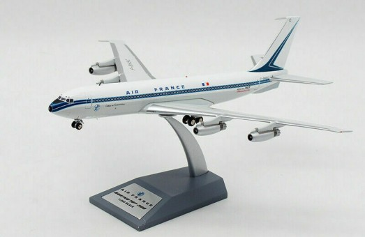 Air France Boeing 707-328 F-BHSB Polished with stand InFlight die-cast IF707AF0420P scale 1:200