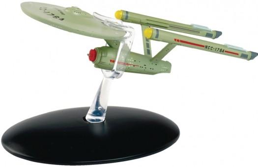 USS Defiant NCC-1964 Star Trek Die-Cast Eagle Moss EM-STCON07