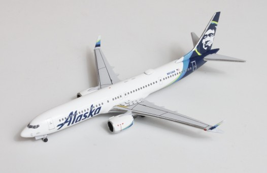 Alaska Boeing 737-MAX-9 N913AK AeroClassics AC419607 scale 1400