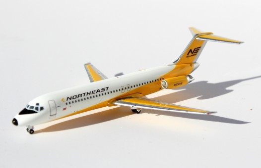 Northeast Yellow Bird DC-9-31 N787NE RetroJets 1:400