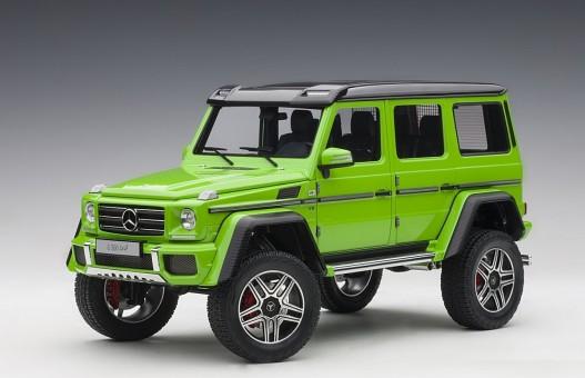 Alien-green Mercedes G500 4X4 2 die-cast AUTOart 76315 scale 1:18