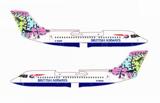 1/400 British Airways Bae-146-300 ~ G-BXAS