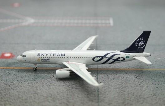 SALE! Saudi Arabian A320-200 Sky Team HZ-ASF Phoenix 10866 Scale 1:400