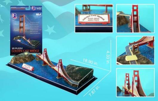 Golden Gate Bridge 3D Puzzle
