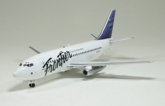 "Frontier B737-200 ""Raccoon / Red Fox""  N205AU 1:200 Scale"