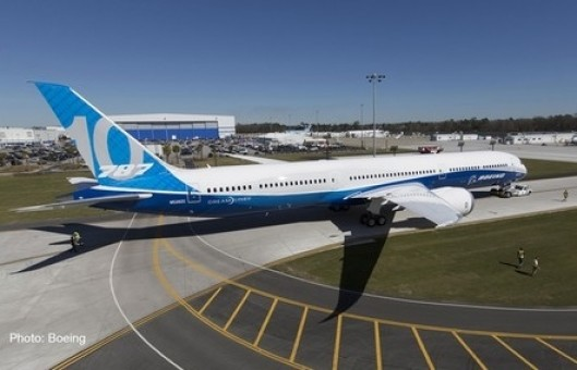 Boeing House 787-10 Dreamliner Herpa 559614 HE559614 scale 1:200