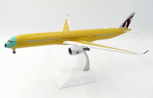 Qatar  Flaps down Airbus House A350-1000 bare metal livery F-WZNR JC Wings LH2QTR089A scale 1:200
