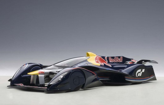 Gran Turismo Concept Red Bull X2014 Fan Car AUTOart 18118 Die-Cast Scale 1:18