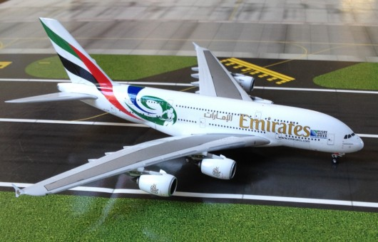 Emirates  A380-800 A6-EDN (Rugby World Cup livery)