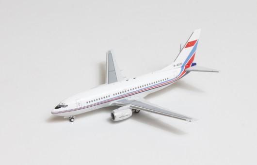 PLAAF China Air Force Boeing 737-700 B-4025 die-cast Panda 202101 scale 1:400