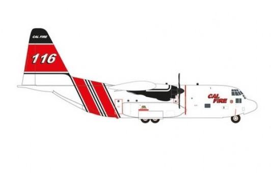 Cal Fire C-130G Hercules Herpa Wings 571470 die-cast scale 1:200