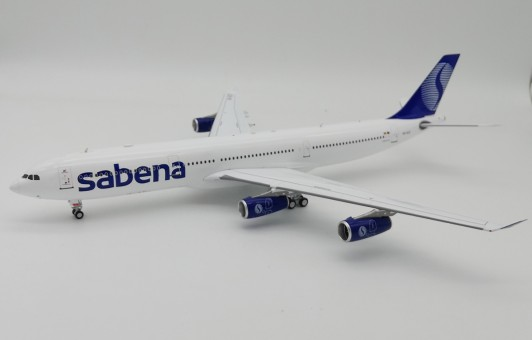 Sabena Airbus A340-300 OO-SCZ stand InFlight IF343SB0119 scale 1:200