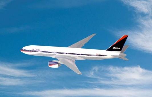 Flight Miniatures Delta Airlines Boeing B777