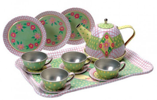 CHILDRENS TIN TEA SET#CTTS