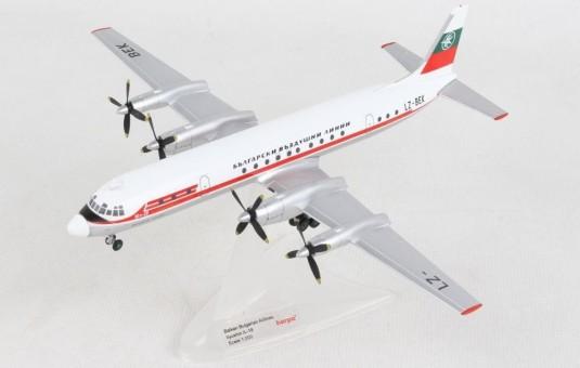 Balkan Bulgarian Ilyushin Il-18 LZ-BEK Herpa Wings 571050 scale 1:200