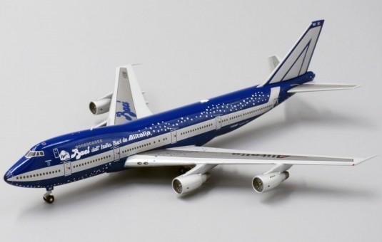 Alitalia Boeing 747-200 Bacci Dall registration I-DEMF JC Wings BB4-2017-004 scale 1:400