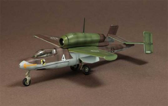 Heinkel He 162 Salamander Jagdgruppe JG1 Squadron, Germany, 1945, WM-APF0014 Scale 1:72