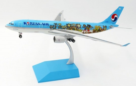 Korean Air Airbus A330-200 HL-8212 Children Drawing Contest JC Wings LH2KAL085 Scale 1:200