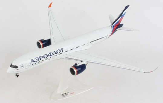 """Aeroflot Airbus A350-900 """"Tchaikovsky"""" VQ-BFY Herpa Wings 570978 scale 1:200"""