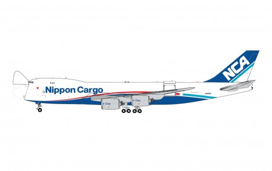 Nippon Cargo Airlines Boeing 747-8F JA14KZ Gemini Jets GJNCA1897 scale 1:400