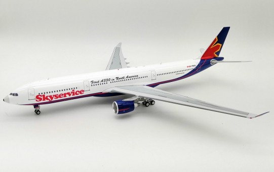"Skyservice Airlines Airbus A330-300 ""First A330 In North America!"" C-FBUS InFlight IF3335G0718 scale 1:200"