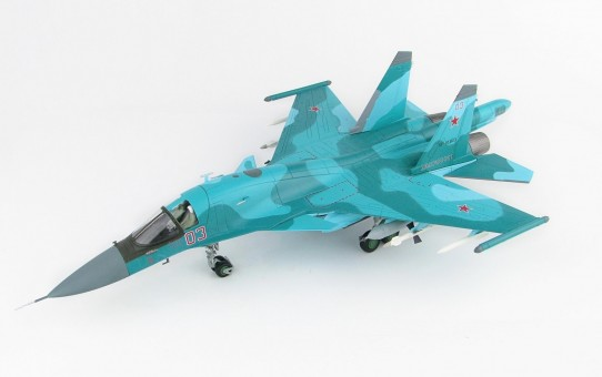 Su-34 Fullback Russian Air Force Red 03 Syria Jan 2015 Сухой Су-34 Hobby Master HA6301 1:72