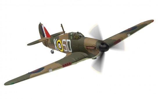 aa27607 Hawker Hurricane Mk-I  V6799 SD-X Pilot Officer K W Mackenzie RAF No 501 Squadron 100 Years of the RAF AA27607 scale 1-72