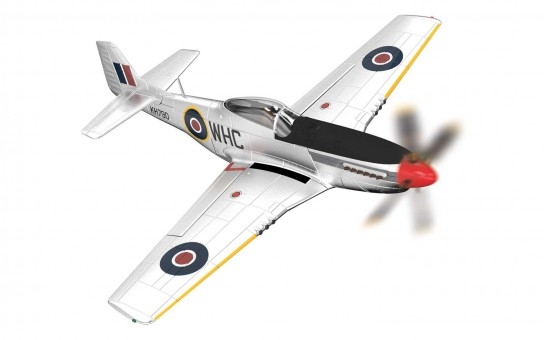 RAF North American Mustang P-51 Corgi Aviation AA27703 Die-cast Scale 1:72