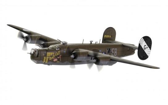 AA34018 CG34018 B-24 Liberator Male Call US Eight Air Force Jimmy Stewart 453rd BG 1944 Corgi Aviation 34018 scale 1-72
