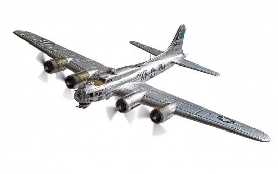 B-17G Flying Fortress USAF 44-6009 Flak Eater Aug 1944 Corgi CG33318 Scale 1-72