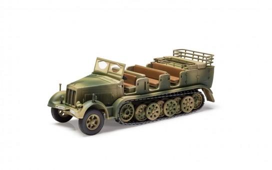 Sdkfz 7 Artillery Tractor – Tunisia 1943 Corgi CG60013 Scale 1:50