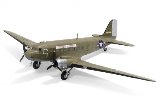 Douglas C-47A Skytrain DC-3 315208 Fassberg Flyer US Air Force Berlin Airlift Corgi Aviation AA38209 Scale 1-72