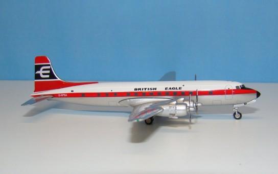 SALE! British Eagle DC-6 G-APSA die-cast JC Wings FL4080 scale 1:400