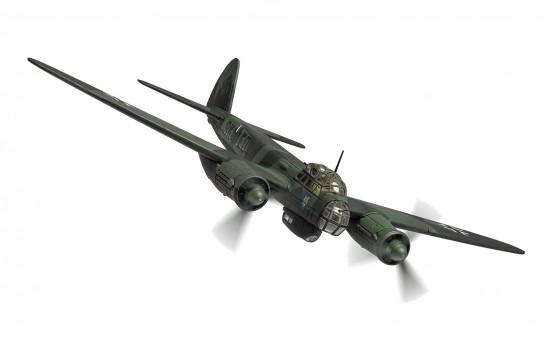 Junkers Ju88A-5 9K+ED Stab III./KG51 Winter 1940 Corgi AA36712 scale 1:72