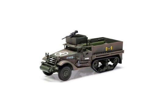 M3 A1 Half-Track 41st Armoured Infantry 2nd Armoured Division Normandy 1944 D-Day Corgi CG60215 Scale 1:50