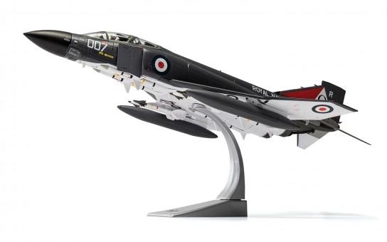 NEW MOULD! Royal Navy FG1  Phantom II F-4 007 No 892 HMS Ark Royal November 1978 Corgi AA27901 Scale 1-48 McDonnell Douglas with stand