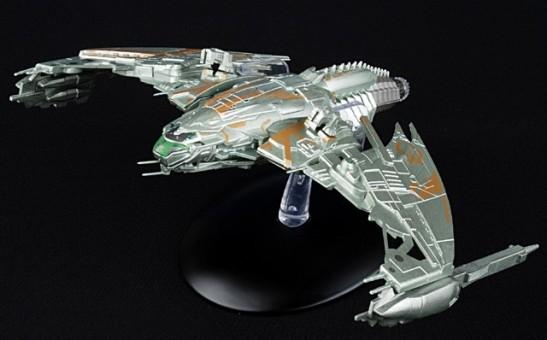 Klingon D4 Bird-of-Prey patrol ship  Trek Die-Cast by Eagle Moss EM-STSP04