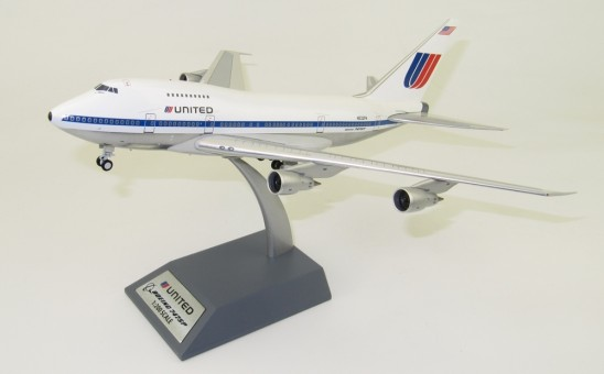 United Airlines Boeing 747SP N532PA stand InFlight IF747SPUA0818P scale 1:200