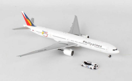 "Philippines Boeing 777-300ER ""75th With Tug! Reg#RP-C7773 GJPAL1581  Scale 1:400"