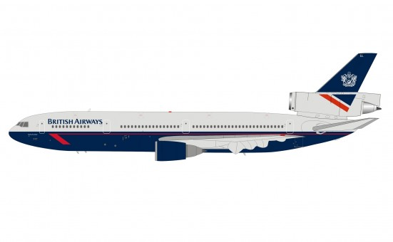British Airways Landor DC-10-30 G-MULL with stand InFlight/ARDB ARDBA26 scale 1:200