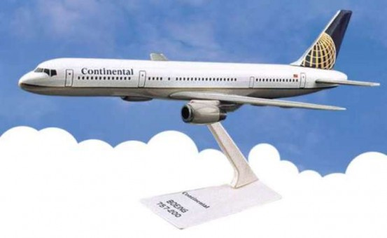 Flight Miniatures Continental Airlines Boeing B757