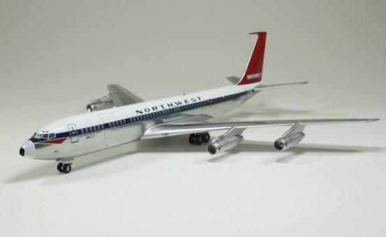 Northwest Orient B707-300 N362US (Polished) With North West Tail 1:200 Scale