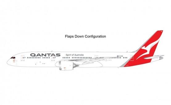 New Mould! Flaps down Qantas Airways Boeing 787-9 VH-ZNK Dreamliner Gemini200 G2QFA983F scale 1:200