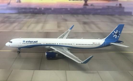 Interjet Airbus A321 Reg# XA-JPB Phoenix 11419 Die-cast Scale 1:400