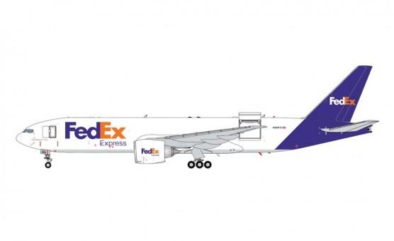 Interactive FedEx Boeing 777LRF N888FD Gemini200 G2FDX951 scale 1:200