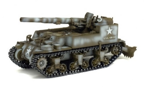 US Army M12 155MM Gun Motor Carriage France 1944 War Master S7200509 scale 1:72