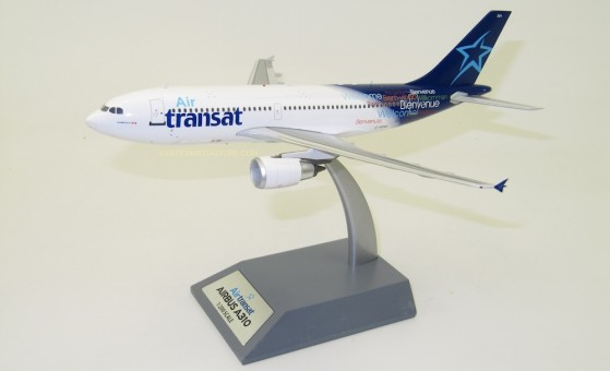 Air Transat Airbus A310-304 C-GFAT with stand InFlight IF310AT0219 scale 1:200